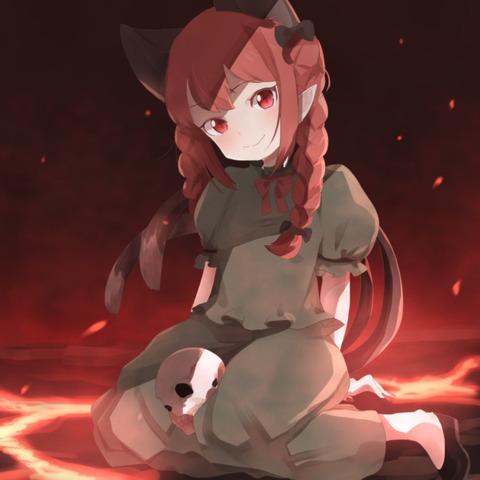 火焔猫燐と髑髏-34