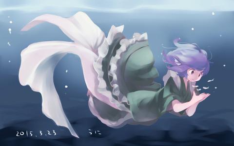 わかさぎ姫と魚-19