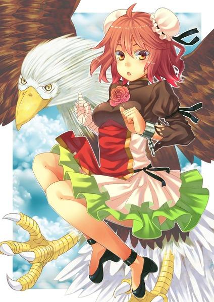 茨木華扇と鷲-10