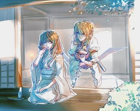 博麗霊夢と酒-27