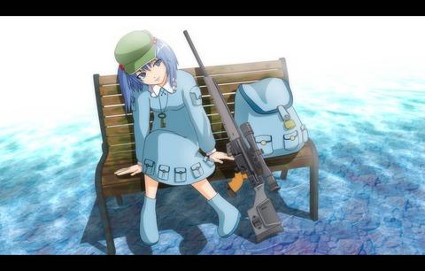 河城にとりと銃-33