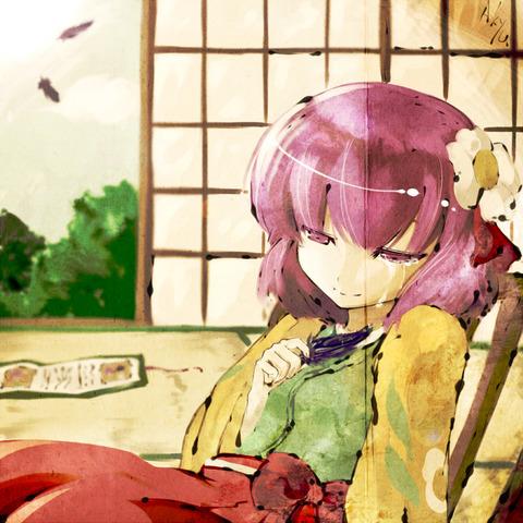稗田阿求と和室-45