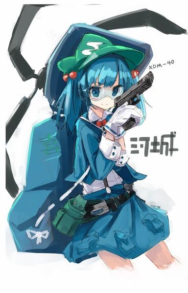河城にとりと銃-12
