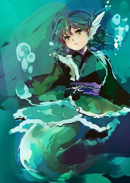 わかさぎ姫水中2-42