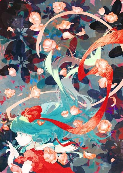 鍵山雛と花-17