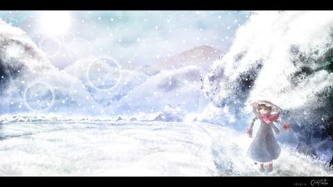 矢田寺成美と雪-18