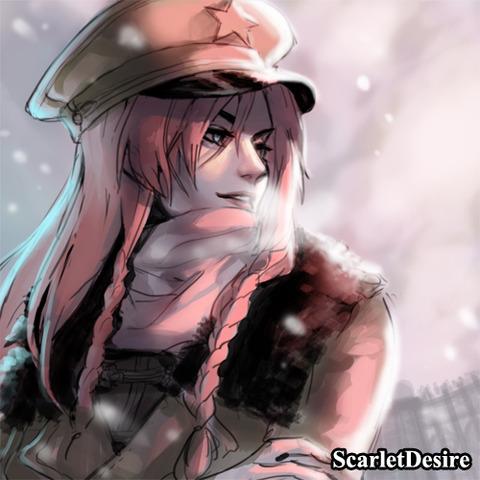 紅美鈴冬服-25