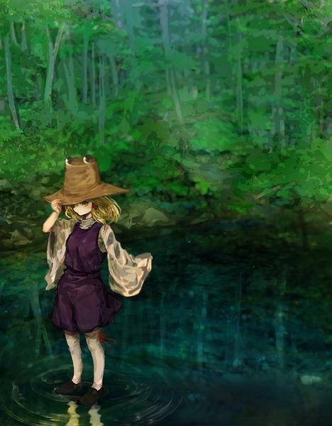 洩矢諏訪子と森-03