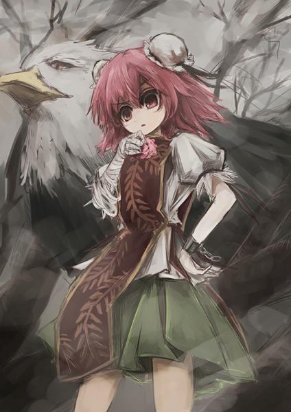 茨木華扇と鷲-18