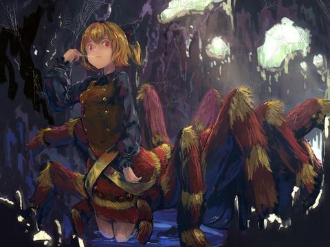 黒谷ヤマメ蜘蛛-09