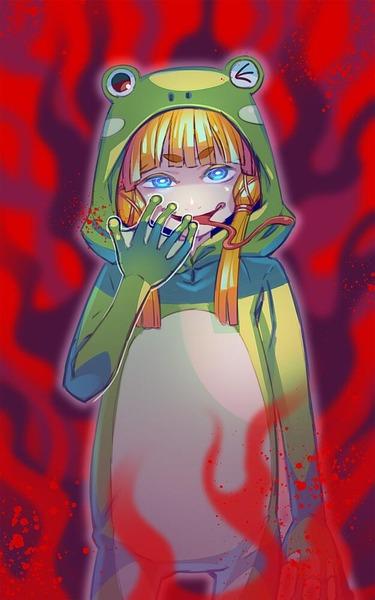洩矢諏訪子の舌-32