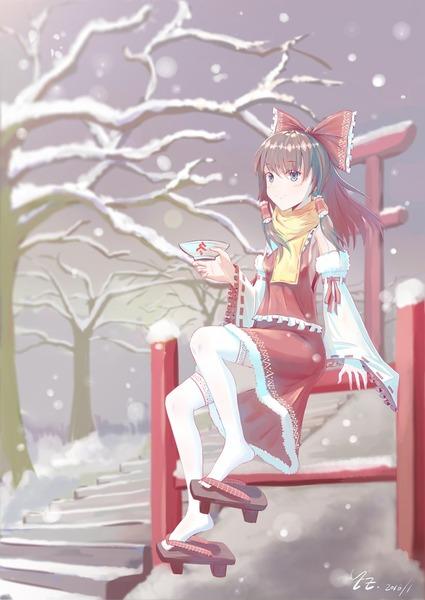 博麗霊夢と雪-28