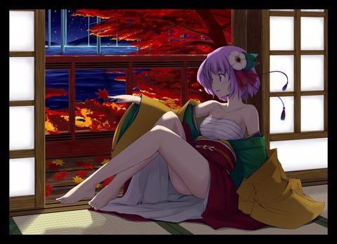 稗田阿求と和室-3