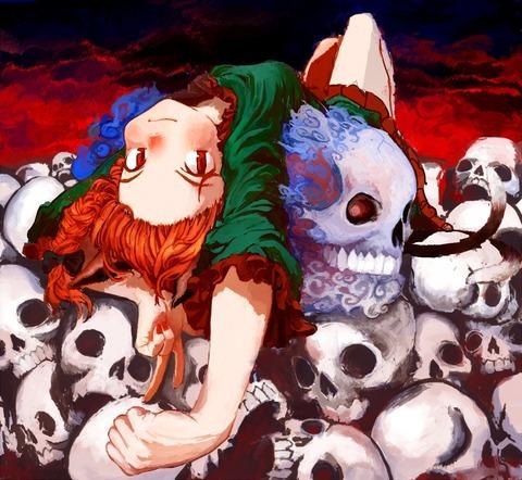 火焔猫燐と髑髏-04