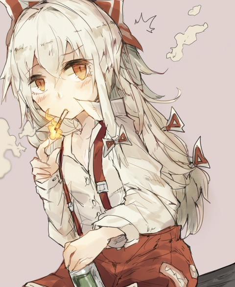 藤原妹紅煙草-43
