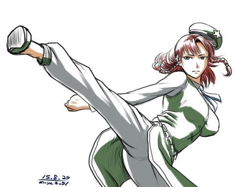 紅美鈴とキック-43