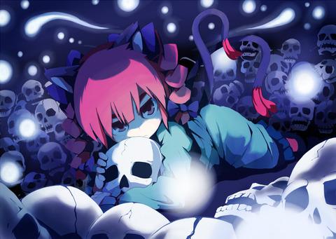 火焔猫燐と髑髏-48
