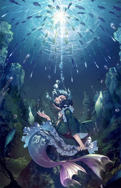 わかさぎ姫と魚-33