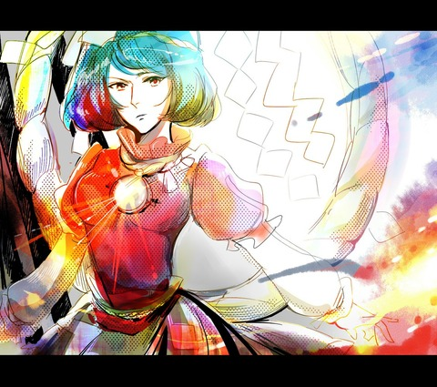 神奈子とオンバシラ2-16