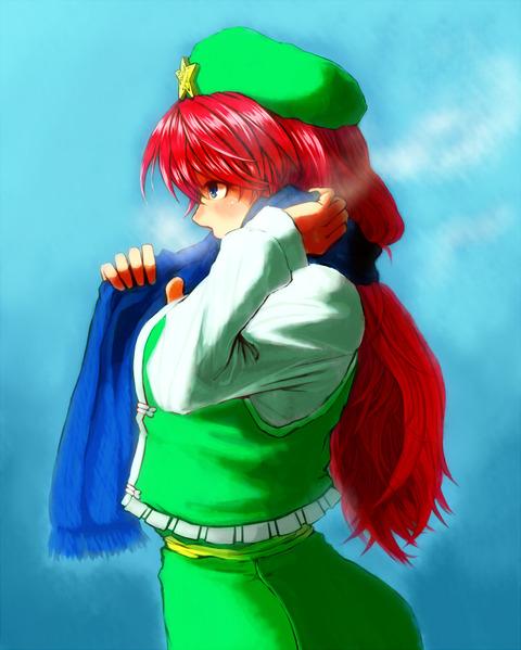 紅美鈴冬服-45
