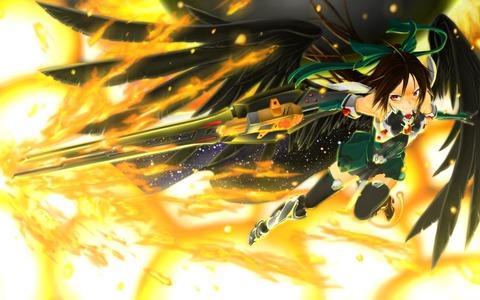 霊烏路空と炎-24