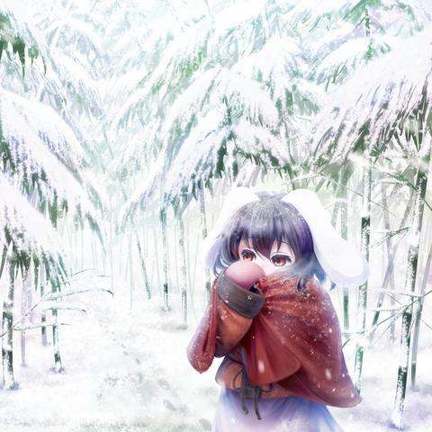 因幡てゐと竹林-31