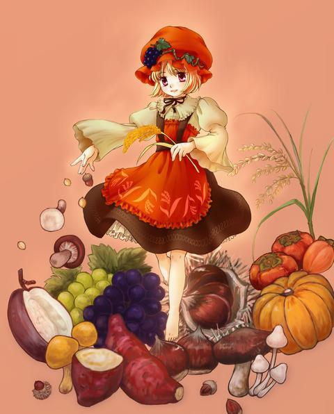 秋穣子と食べ物-30