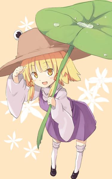 洩矢諏訪子と葉っぱ傘-17