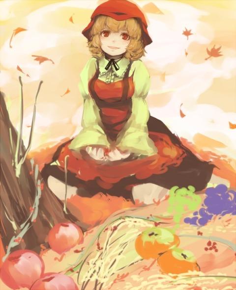 秋穣子と食べ物-50