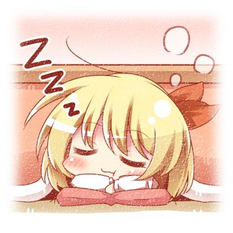 寝ルーミア-14