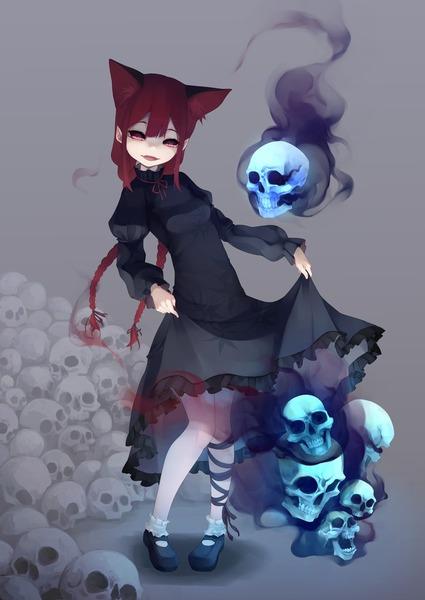 火焔猫燐と髑髏-14