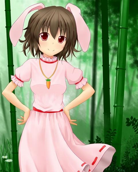 因幡てゐと竹林-02