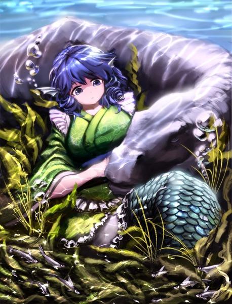 わかさぎ姫と魚-35