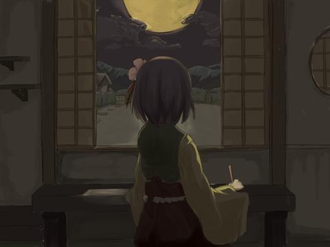稗田阿求と和室-10