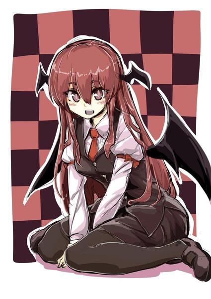 小悪魔と黒タイツ-36