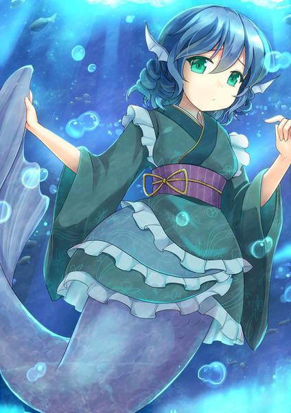 わかさぎ姫と魚-36