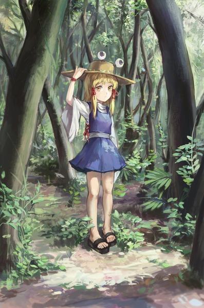 洩矢諏訪子と森-26