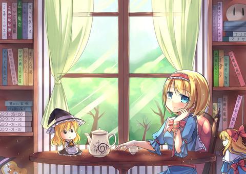 アリスと紅茶-46