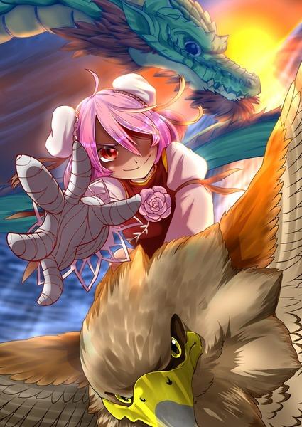 茨木華扇と鷲-16