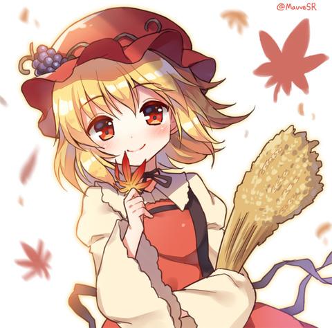 秋穣子と食べ物-13