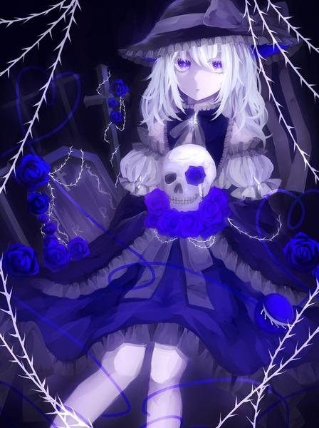 古明地こいしと青いバラ-42