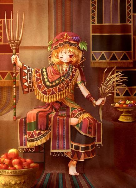 秋穣子と食べ物-20