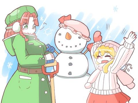 フランと冬服-48