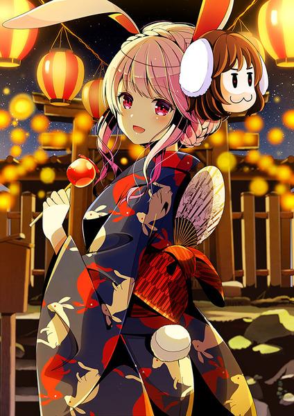 うどんげと和服-06