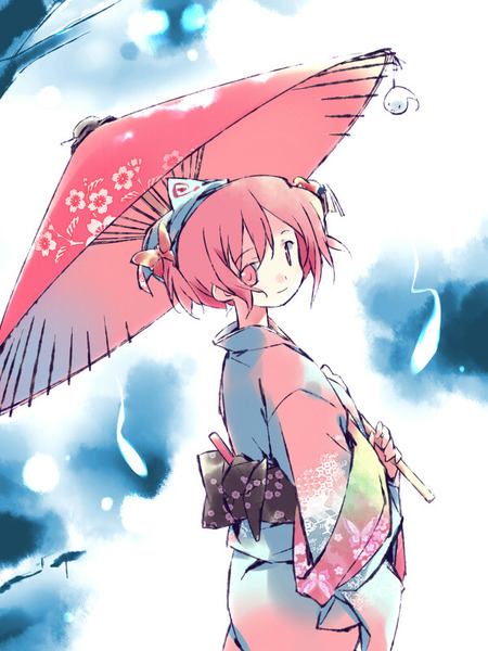 西行寺幽々子と和傘-29