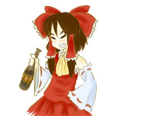 博麗霊夢と酒-21