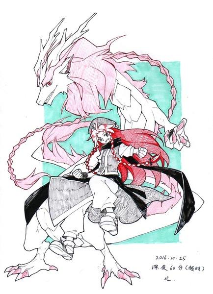 紅美鈴冬服-26