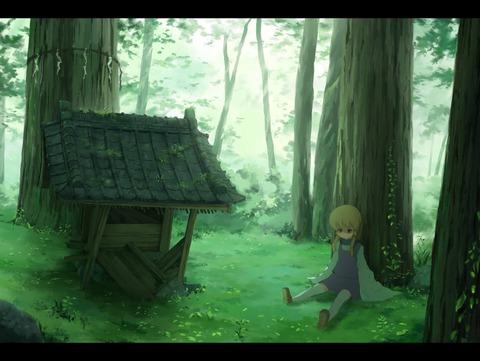 洩矢諏訪子と森-07