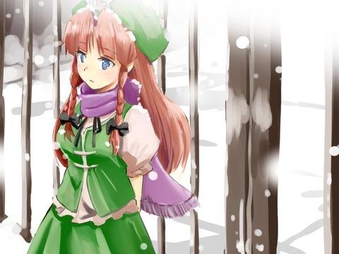 紅美鈴冬服-47