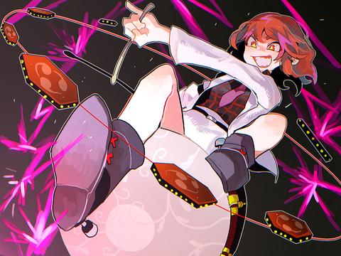 座る雷鼓-95